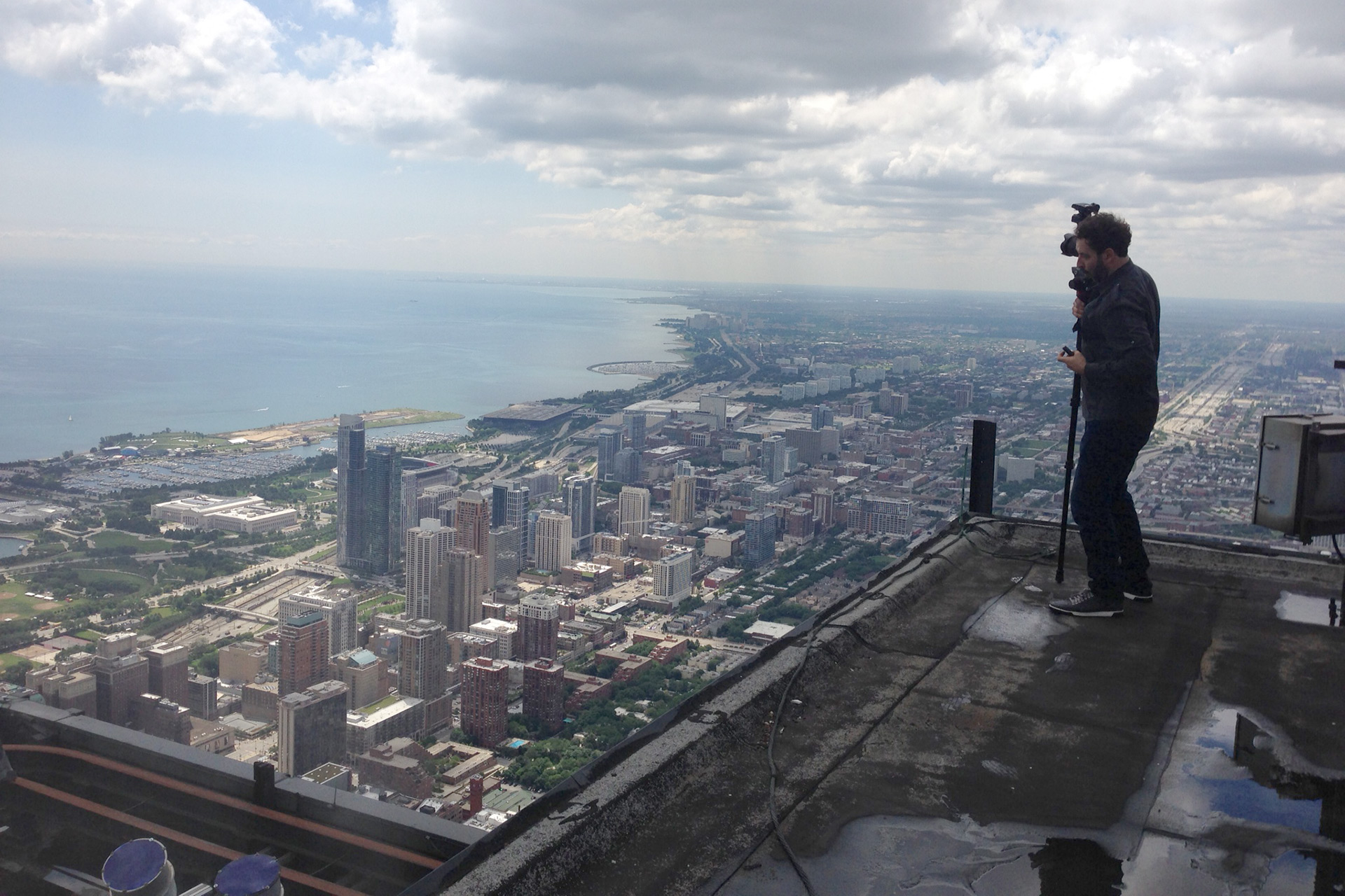 On Top of the Sears Tower